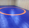 Борцовский ковер трехцветный 12х12 м (толщина матов 5 см) UWW 5/180