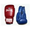 Перчатки боксерские 14 унц. синий и красный.