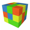 Игровой модуль Конструктор Кубик-Рубик №2 Мини